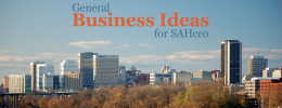 General Business Ideas for SAHceo