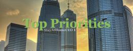SAHceo 1 Top Priorities